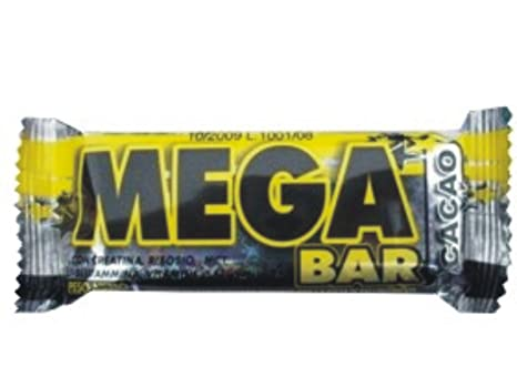 24 barras de proteína megabar no cubierta con alto contenido en proteínas 80 gr sabor a