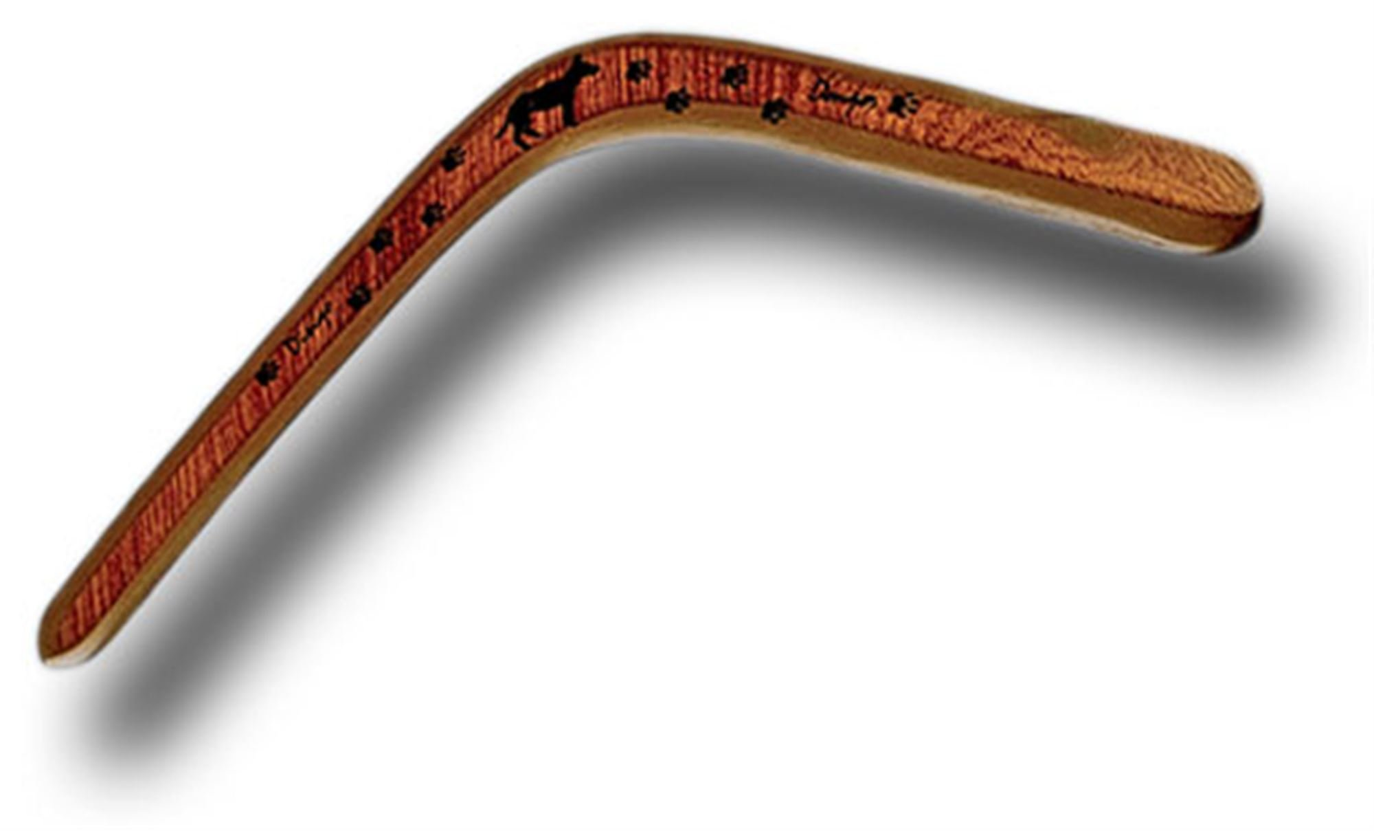Right Hand Dingo Donger Australian Wooden Boomerang by Stones Throw