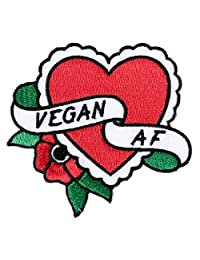 Sourpuss Vegan A.F. Patch