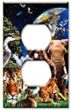 Outlet Cover Wall Plate - Animal Kingdom