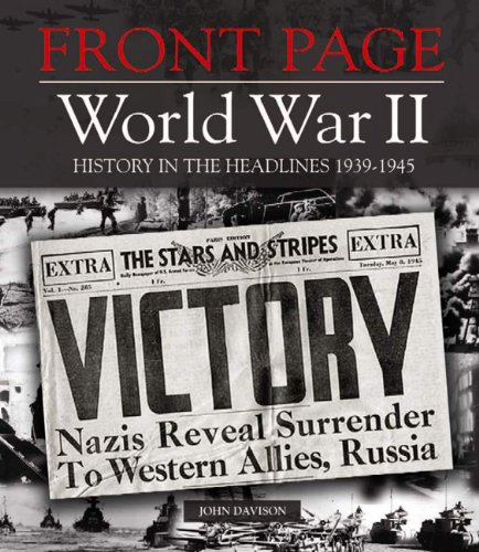 Front Page World War II by John Davison (2009-07-04)