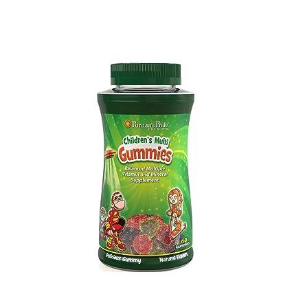 Gominolas Vitaminadas para niños (dos al día) Gummies