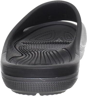 SALE Childrens Crocs Black//Graphite  Slip On Summer open Toe Sandal DUET SCUTES