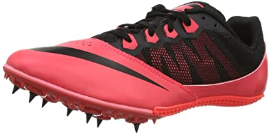 NIKE Zoom Rival S 7 Men's Track Spike, Red/Black, US11.