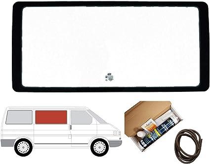 Mano derecha ventana de fijo transparente para Panel lateral OPP. Puerta Corredera Para Volkswagen Transporter T4 (1990 – 2003): Amazon.es: Coche y moto
