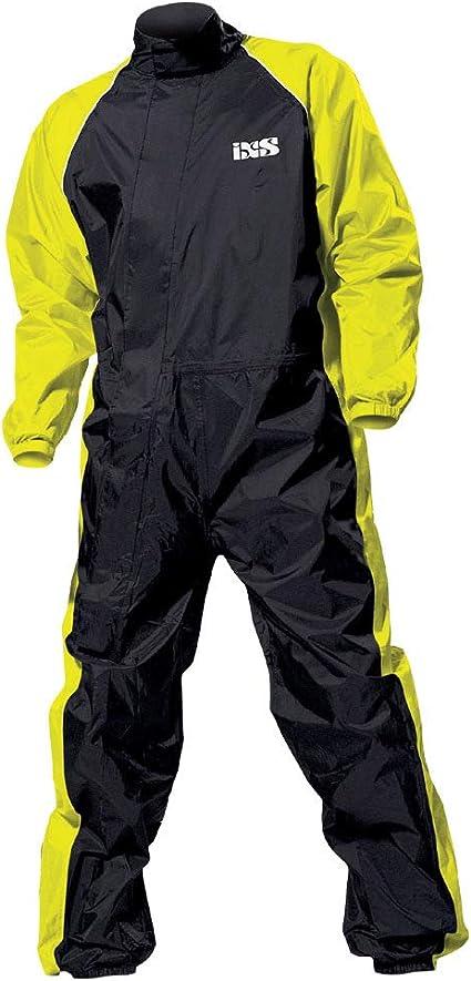 Ixs Orca Evo Regenkombi Farbe Schwarz Neongelb Größe Xs Sport Freizeit