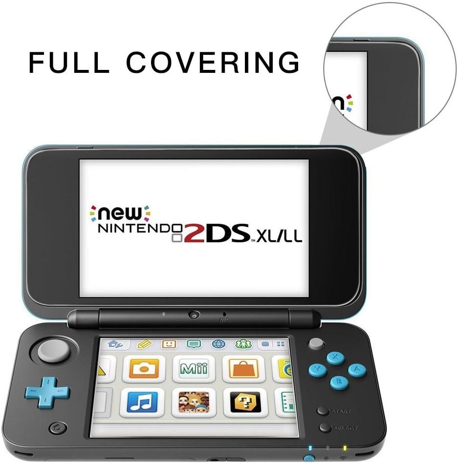 TUTUO Protector de Pantalla para Nintendo New 2DS XL Vidrio ...
