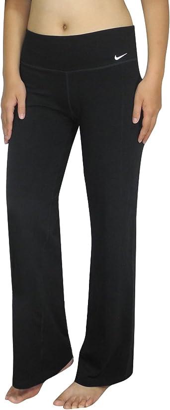 Amazon Com Nike Womens Athletic Dri Fit Training Yoga Pants Xl Black Sports Outdoors