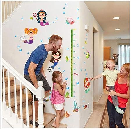 Amazon.com: Pegatinas de pared con gráfico de crecimiento de ...