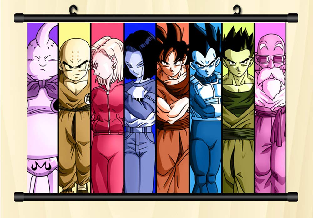 DRAGON BALL SUPER Anime Wall Poster Scroll Cosplay