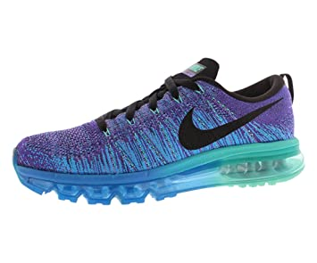 promo code f91aa 90665 Nike Flyknit Air Max 620469–500 Hyper Grape Photo Bleu Noir Chaussures de
