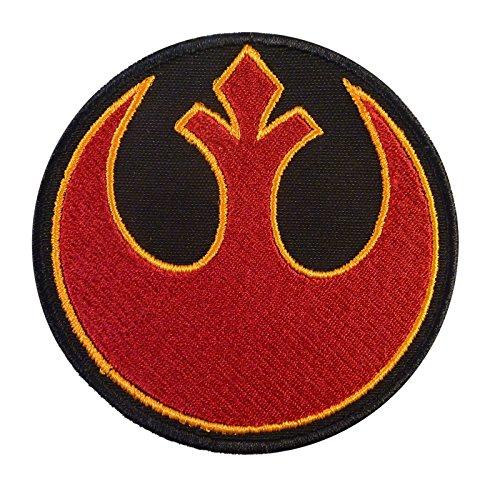 Rebel Alliance Star Wars Embroidered Sew Iron on Patch (Rebel Alliance Star Wars)