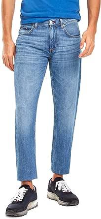 بنطلون جينز تومي مستقيم للرجال ×1 من تومي هيلفيغر