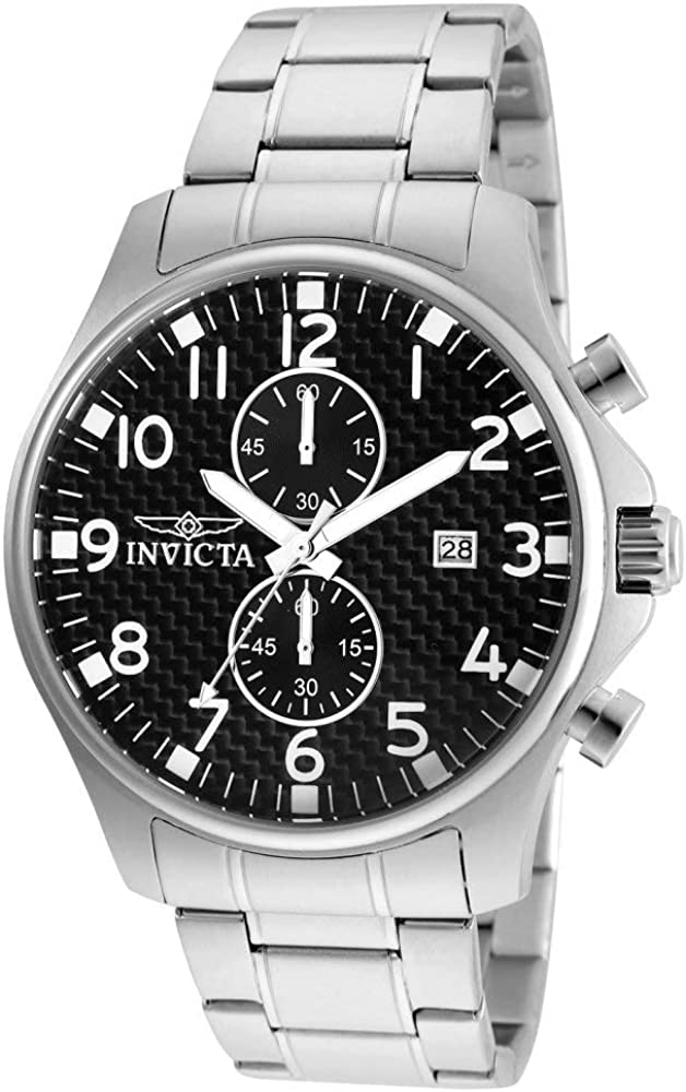 Invicta Men s 0379 II Collection Stainless Steel Watch