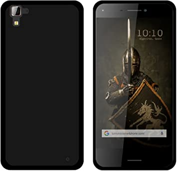 Tumundosmartphone Funda Gel TPU para HISENSE C30 Rock Color Negra ...