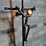 Edge To Wall lamp European Retro Wrought Iron Pipe Wall Lamp The Holy Cross Cross Lamp Creative Home Industrial Wind Lamp Bar Cafe Creative Wall Lamp