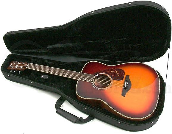 KINSMAN HFW2 - Estuche para guitarra acústica, color negro: Amazon.es: Instrumentos musicales