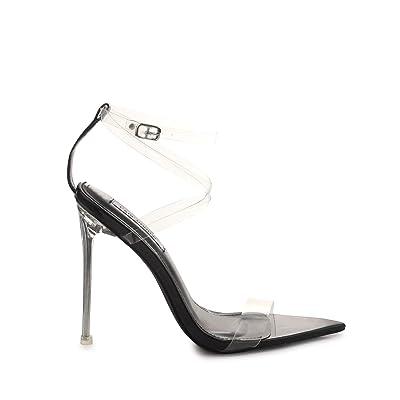 Cape Robbin Skins Women's Stiletto High Heeled Sandals | Heeled Sandals