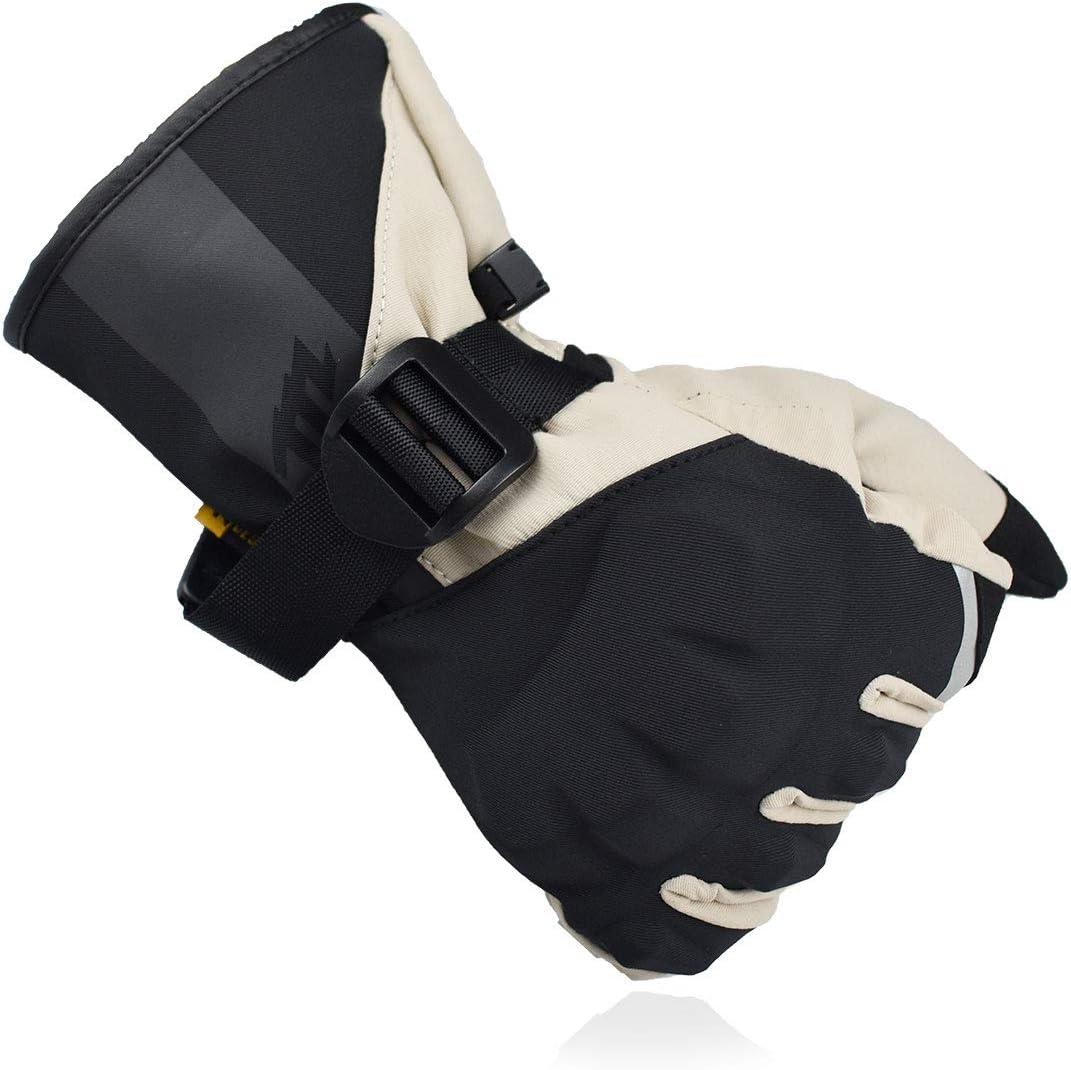 Madbike Gants de moto imperm/éables pour homme avec /écran tactile int/égral pour moto bleu, M