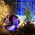 ECHTPower(TM) Solar-powered Christmas Tree Light with 60 LEDs Waterproof Solar Window Outdoor Christmas String Light