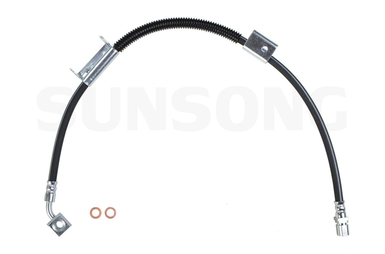 Brake Hydraulic Hose Sunsong North America 2203258