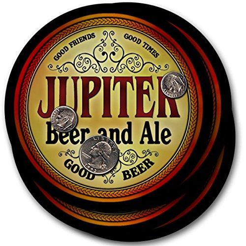 Jupiterビール& Ale – 4パックドリンクコースター   B003QXXARS