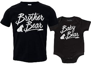 8ba2f271 Texas Tees Clothing for Siblings, Bear Shirts, Brother Bear, Sister Bear,  Baby