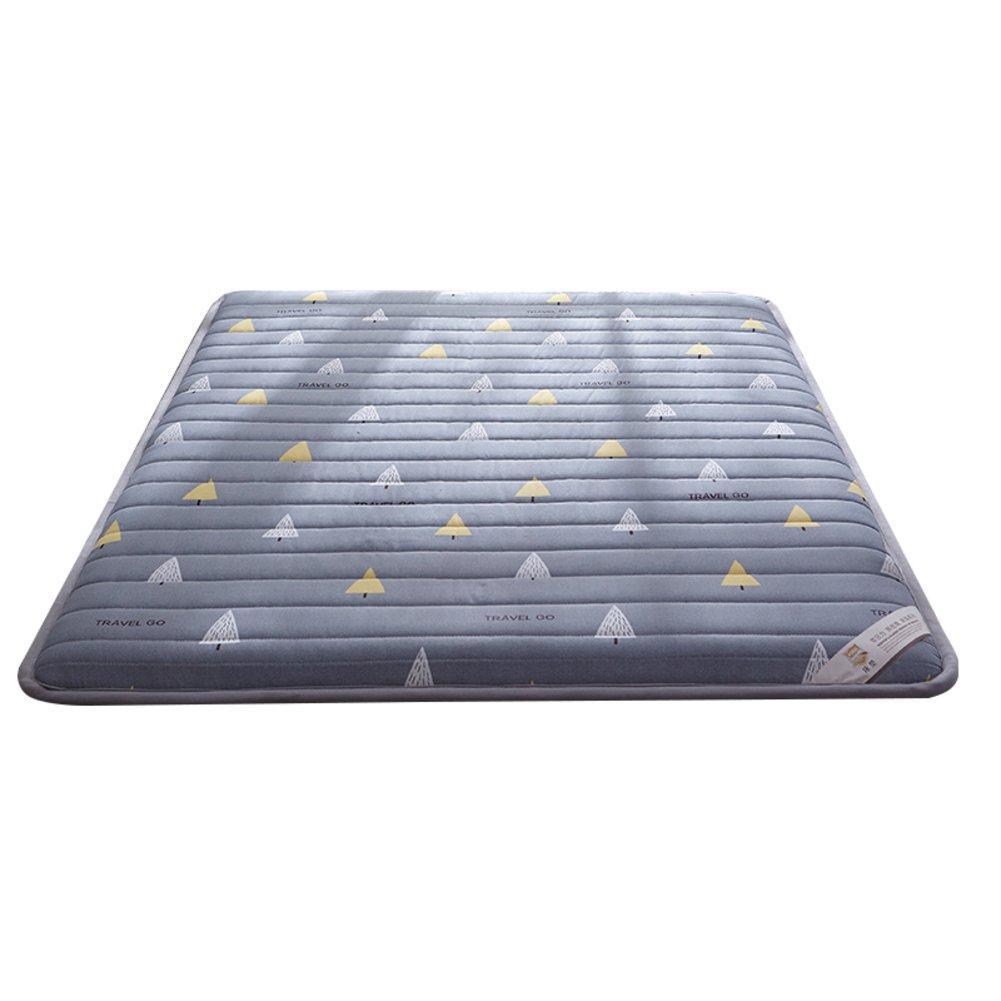 DULPLAY スリップ 畳 式 マットレス パッド,綿 布団 Thickn マットレス トッパー 防水 竹カバー パッドを睡眠 寝室ベッド パッド -A 120*200cm B07FCPV4QC A 120*200cm
