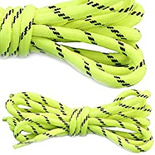DailyShoes Women's Round Hiking Boot Shoelaces Strong Durable Stylish Shoe Laces