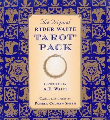 The Original Rider Waite Tarot Pack By: Arthur Edward Waite ...