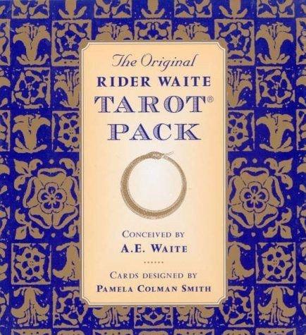 The Original Rider Waite Tarot Pack By: Arthur Edward Waite ...