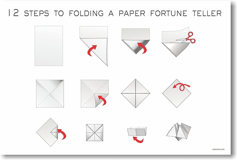 Origami Paper Fortune Teller Finger Origami Fortune Teller Finger ... | 1013x1500