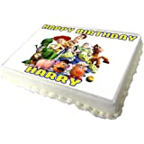 Toy Story Edible A4 Birthday Cake Topper