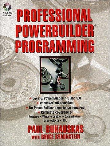 professional powerbuilder programming
