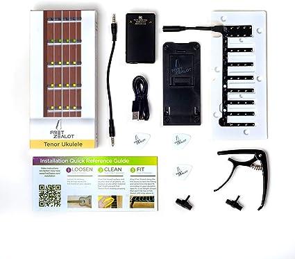 Fret Zealot - Guitarra LED para aprender a tocar en todos los ...