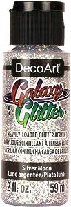 Deco Art DecoArt Galaxy Glitter, 59ml, Silver