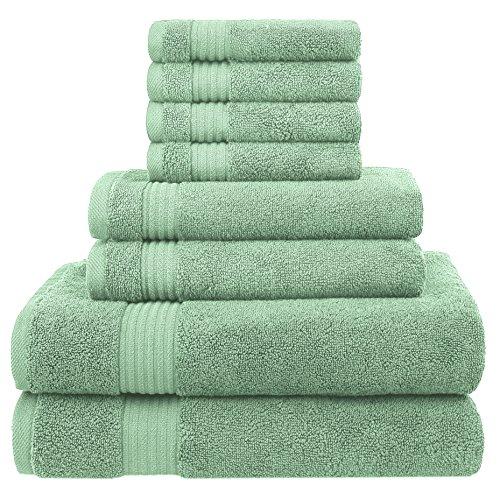 100% Cotton Towel Set - 8