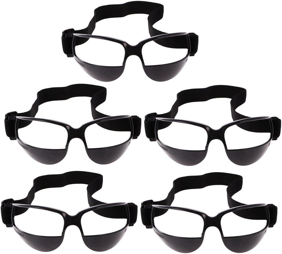 Baoblaze 1/5 Piezas Bateo de Baloncesto Profesional Driblar Gafas de Entrenamiento