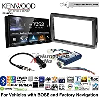Volunteer Audio Kenwood DDX9904S Double Din Radio Install Kit with Apple CarPlay Android Auto Bluetooth Fits 2005-2006 Nissan Altima (With Bose)