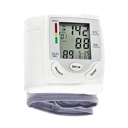 TOOGOO HQ-806 Esfigmomanometro de Pantalla Digital de cristal liquido Esfigmomanometro de medicion automatica digital