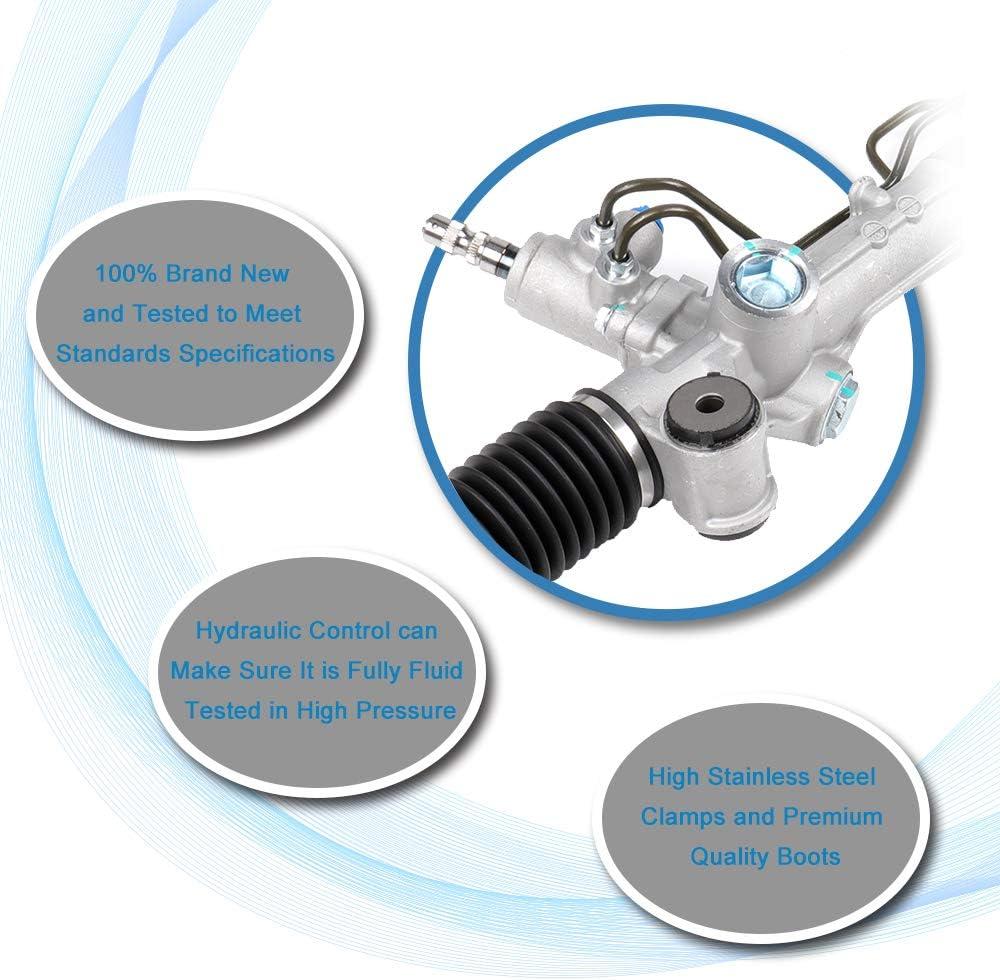New Complete Unit Power Steering Rack and Pinion Assemblies Fit for 2004-2006 Lexus ES330 3.3L 2007-2012 Lexus ES350 3.5L 26-2632 ES330 ES350