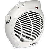 Impress IM-701 1500-Watt Compact Fan Heater with Adjustable Thermostat