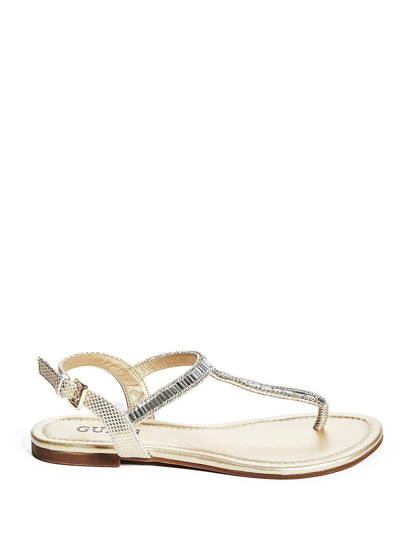savon t strap sandals