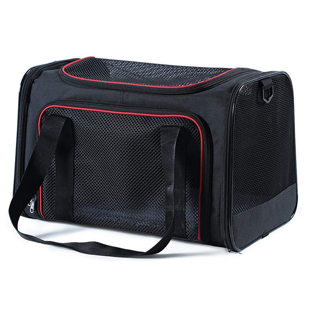 B M B M Pet Bag,Small Dogs or Cats Breathable Mesh Pet Backpack,Collapsible Backpack Airline Approved Pet Carriers