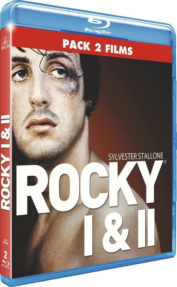Rocky + Rocky II [Francia] [Blu-ray]: Amazon.es: Sylvester Stallone, Talia Shire, Burt Young, Burgess Meredith, Carl Weathers, John G. Avildsen, Sylvester Stallone, Sylvester Stallone, Talia Shire: Cine y Series TV