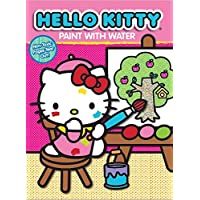 Hello Kitty Paint with Water Activity Book-Apple Tree