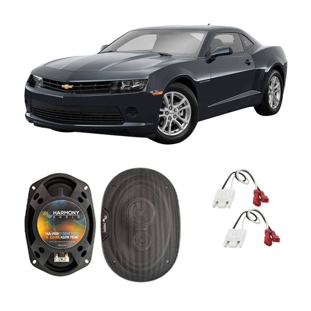 Fits Chevy Camaro 2010 2015 Rear Deck Factory Harmony Wire Harness Replacement Ha R69 Speakers Car Electronics