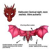 Flurries-Halloween Dragon Costume Head Half Mask