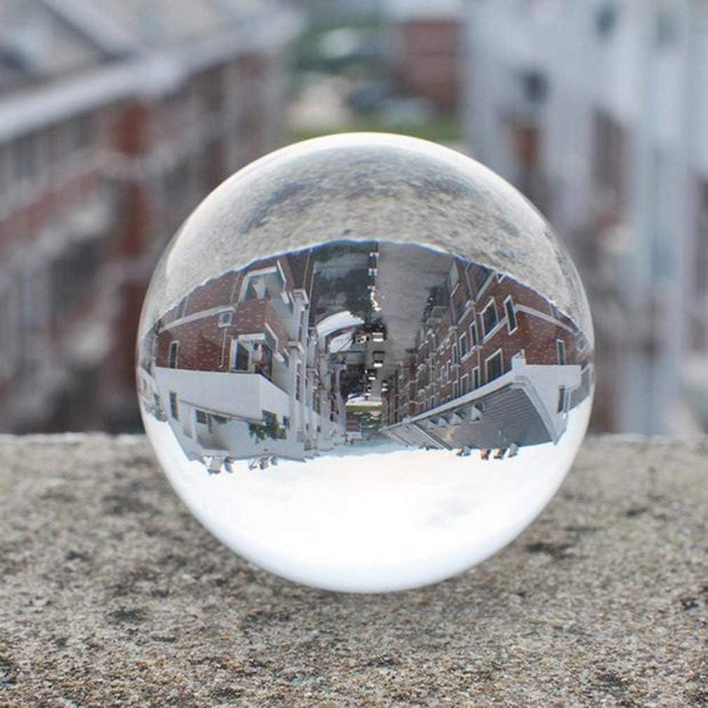 Klar Kristall Ball Globe f/ür Feng Shui//Hellsehen oder Hochzeit//Haus//B/üro Dekoration Clear Crystal Ball Klare Kugel Glaskugel Kugel Tatayang K9 Kristallkugel 70mm