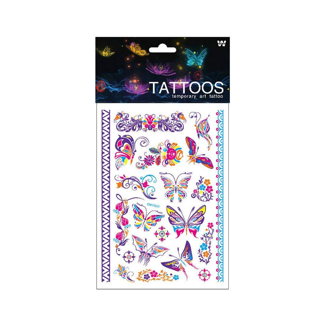Mujeres Tatuaje Temporal arte extraíble del cuerpo de tatuajes de ...